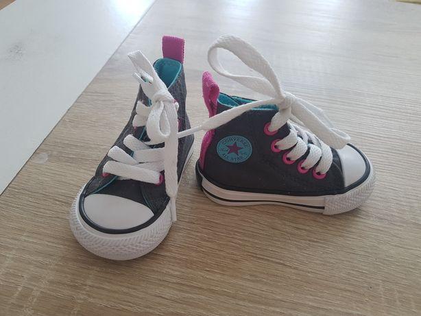 Buty dziewczece converse