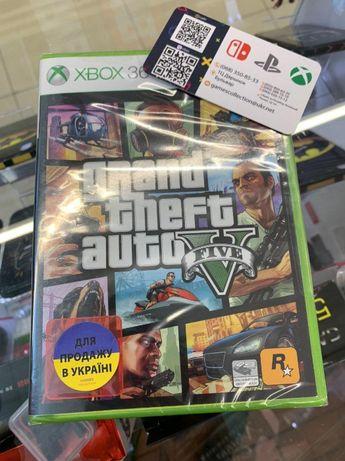 GTA 5 GRAND THE AUTO 5 (XBOX360) Новый диск Магазин!!!