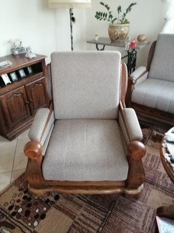 Komplet wypoczynkowy - zestaw kanapa plus dwa fotele