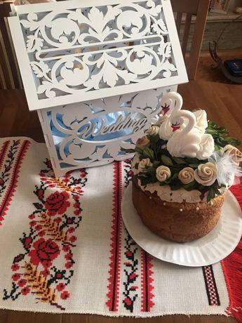 ОРЕНДА|Хатинка весільна для конвертів.