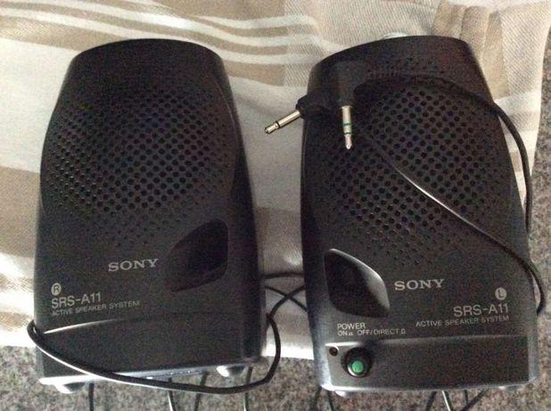 Colunas portáteis Sony