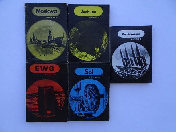Wszystko o: Sól; Trzęsienia ziemi; Bundeswehra; EWG; Jaskinie; Moskwa