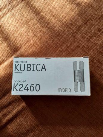 KUBICA HYBRID K2460 Zawiasy wpuszczany chrom