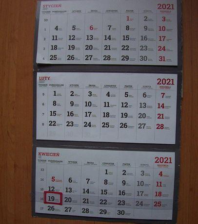 Oddam za darmo kalendarz przydatny , niezbędny - dla dziecka