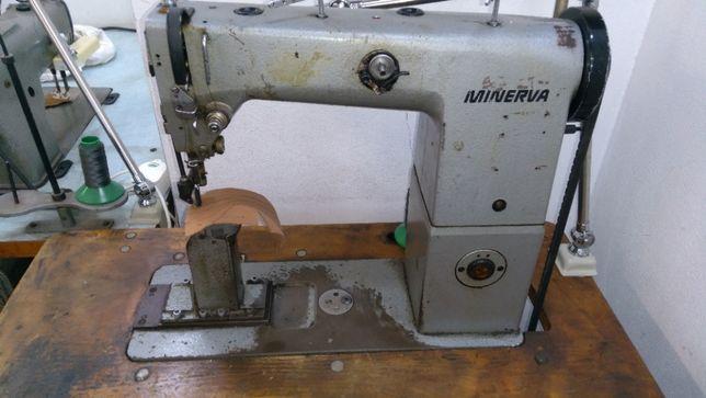 Maszyna do szycia Minerva jednoigłowa z potrójnym napędem