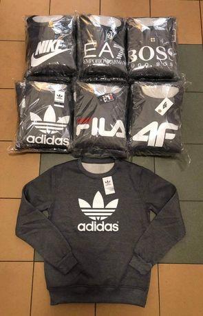 Bluzy meskie z logo Adidas Fila 4f i inne kolory M-XXL!!!