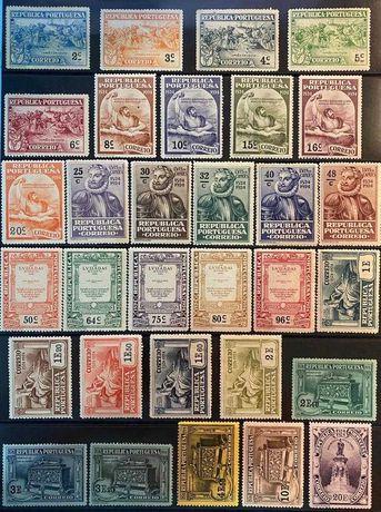 Coleção Selos Portugal - 4º Centenário Nascimento Luis de Camões