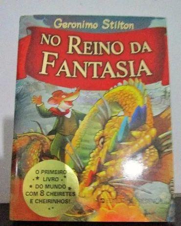 Livro No Reino da Fantasia - Geronimo Stilton