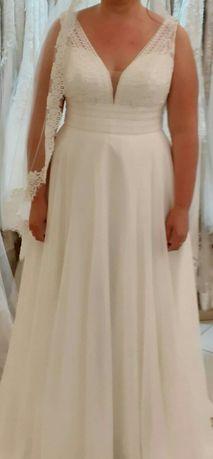 Używana suknia ślubna Herm's Bridal r. 44