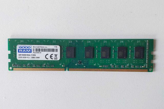 Pamięć RAM DDR3 GoodRam 8GB GR1600D364L11