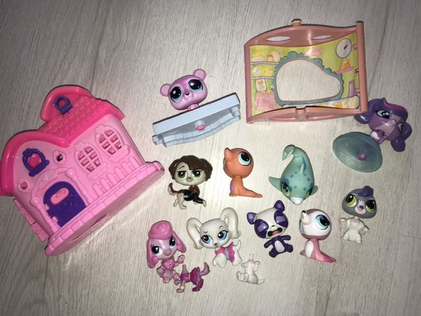 littlest pet shop оригинал LPS hasbro домики в подарок!