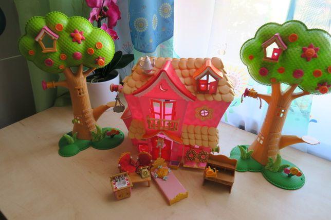 Domek, mebelki, drzewka lalaloopsy