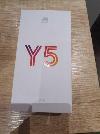 Nowy smartfon Huawei Y5 Niebieski Android Gwarnacja 24 m-c