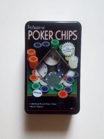 Набор фишек для покера (новый)