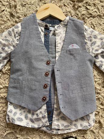 Детский нарядный костюм для мальчика 2-3 года фирмы NEXT