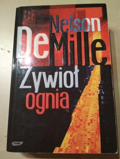 "Książka ""Żywioł ognia"" Nelson De Mille"