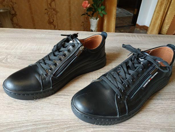 Продам отличные кожаные туфли!