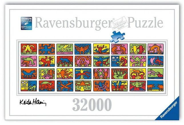 Puzzle Ravensburger Keith Haring 32000 peças  Montado