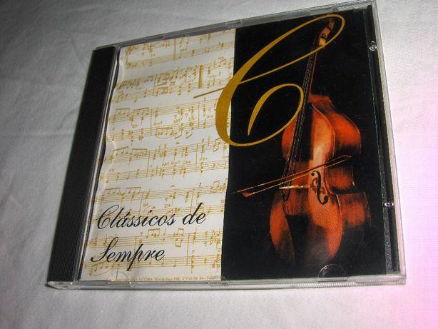 CD'S de Música Clássica e Música de NATAL - Novos