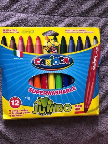Фломастеры Carioca jumbo