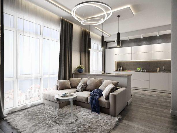 1-комнатная квартира 33 м2 в новом доме на Среднефонтанской