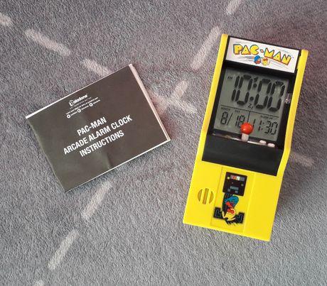 Zegarek Budzik Automat do gier Pac-Man