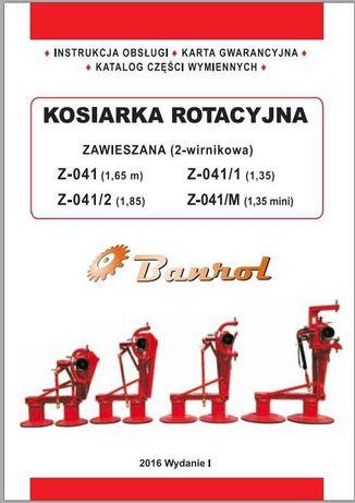 Katalog części kosiarka rotacyjna Z 041