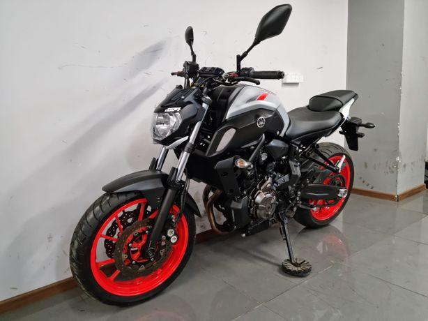 Yamaha mt07 z 2019r abs ice fluo kat a2 35kw