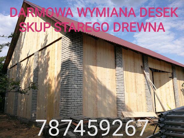 Skup stodół, rozbiórki, stodoła, rozbiórka, deski belki ciosane