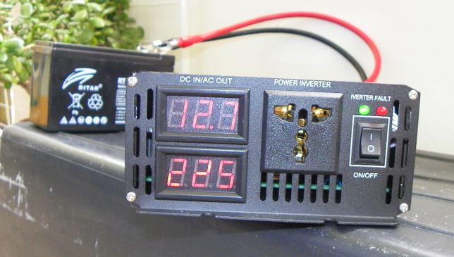 Przetwornica 12V / 220V czysty sinus 3000W