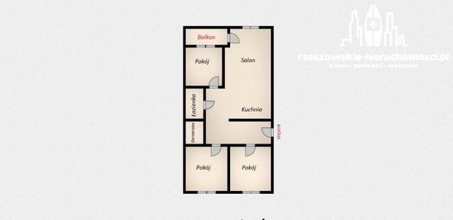 Do sprzedania komfortowe mieszkanie 4 pokojowe w Rzeszowie