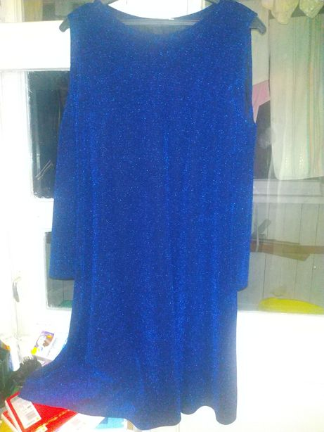 Платье с люрекса