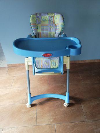 Krzesełko do karmienia. Krzesło składane POLAK
