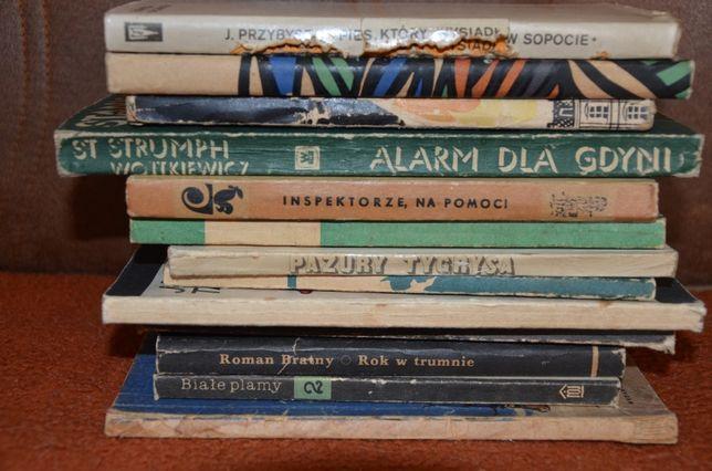 książki różne-sensacja i inne