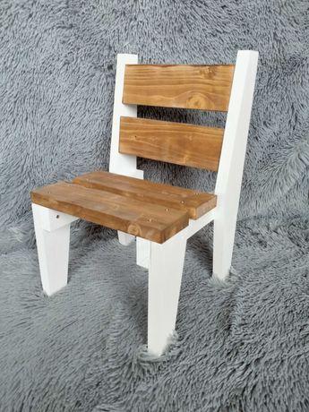 Drewniane krzesełko