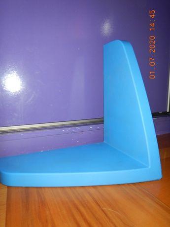 Półki Ikea - 2 niebieskie i 1 czerwona