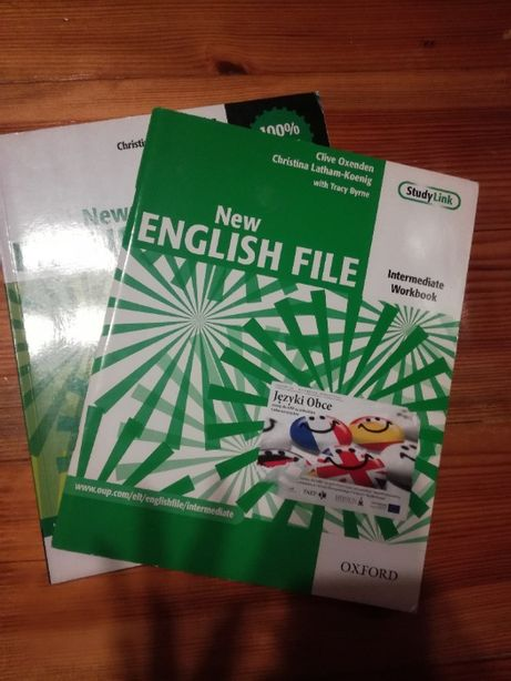 New English file książka + ćwiczeniówka
