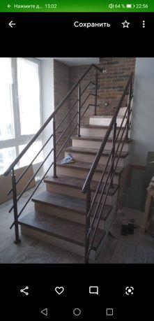 Лестница, сходи, металевi