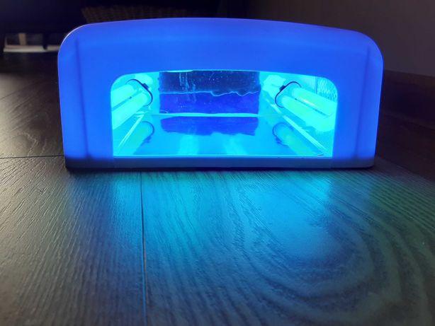 Lampa UV 36V do paznokci żelu hybryd z timerem i dodatkowymi żarówkami