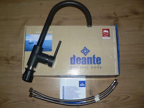Bateria zlewozmywakowa Deante-czarna