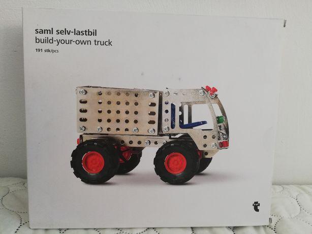 Truck Samochód do skręcania Zestaw nowy 191el