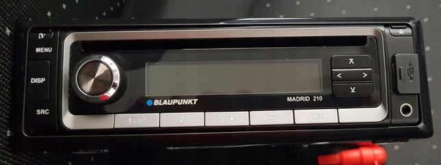 Radio samochodowe Blaupunkt Madrid 210