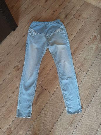 Spodnie jeansowe ciążowe H&M, jeansy ciążowe super skinny