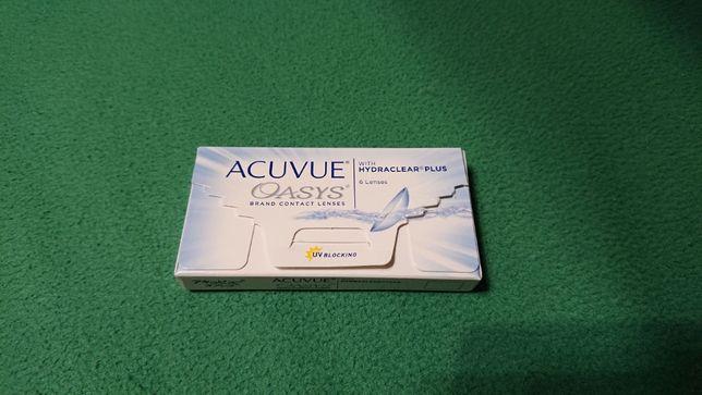 Soczewki kontaktowe Acuvue Oasys z Hydraclear - dwutygodniowe