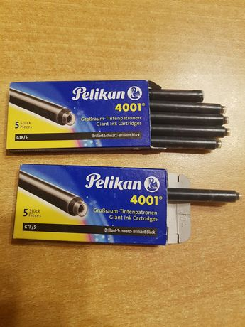 Pelikan naboje czarne 4001 .