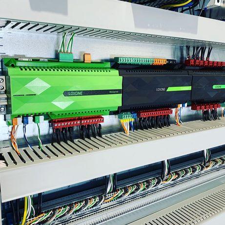 Inteligentny dom, instalacje elektryczne | LOXONE | Darmowe wyceny