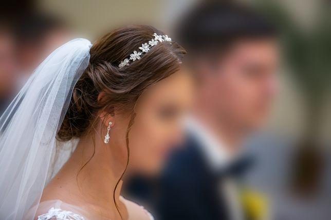 Ozdoba na głowę, gałązka ślub