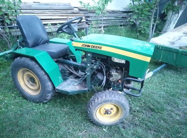 Саморобний трактор мікро