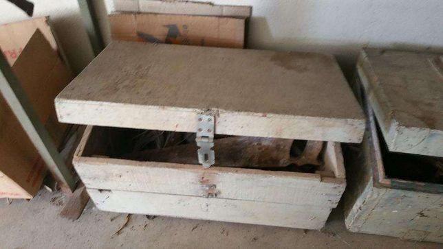 Caixa antiga de ferramentas