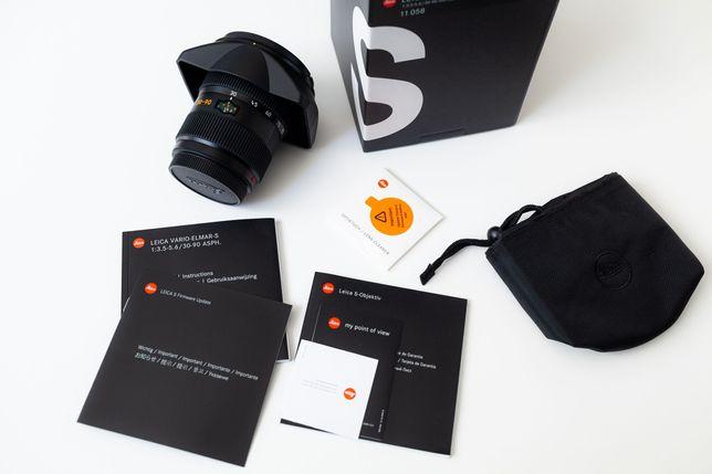 Objectiva Leica Vario-Elmar S 30-90mm